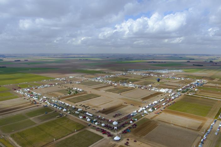 Innov-agri, le rendez vous agricole aux champs